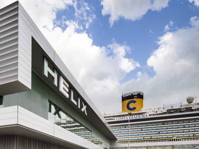 Sostenible, elegante y muy barcelonesa. Así es la nueva terminal HELIX