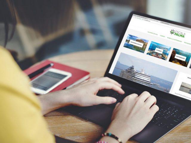 Nace EscalaPalma, una nueva plataforma digital para informar sobre el valor de la actividad crucerista en Baleares