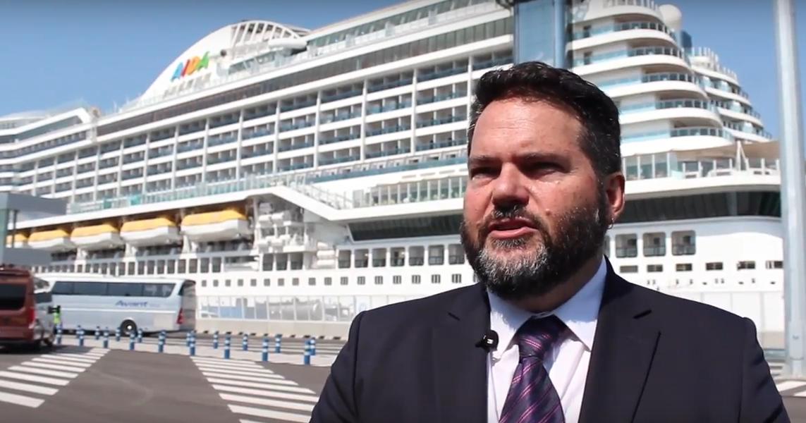 Ricardo Menzies (Mercy Ships): 'Los cruceros nos aportan donaciones, conocimiento y voluntarios'