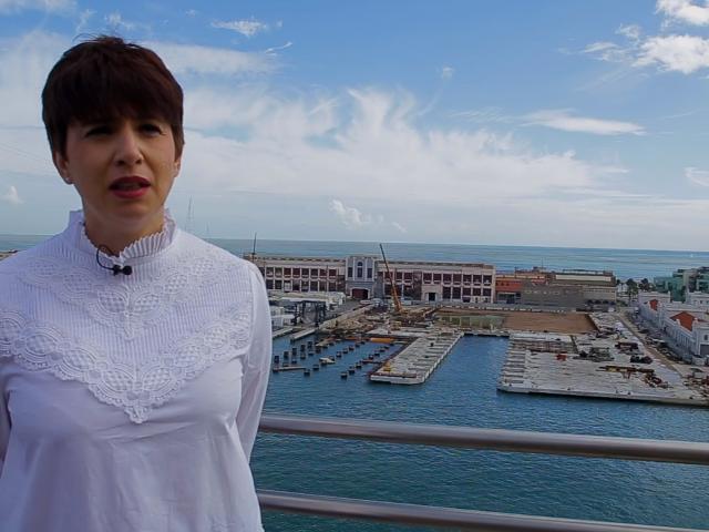 """""""Las navieras confían en Barcelona para traer sus barcos más nuevos y sostenibles"""". Entrevista a Mar Pérez (Port de Barcelona)"""
