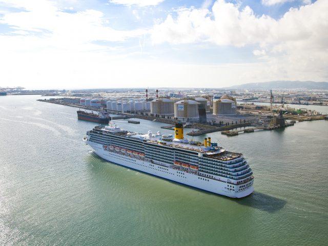 Barcelona recibirá este año los primeros cruceros impulsados por gas natural licuado (GNL)