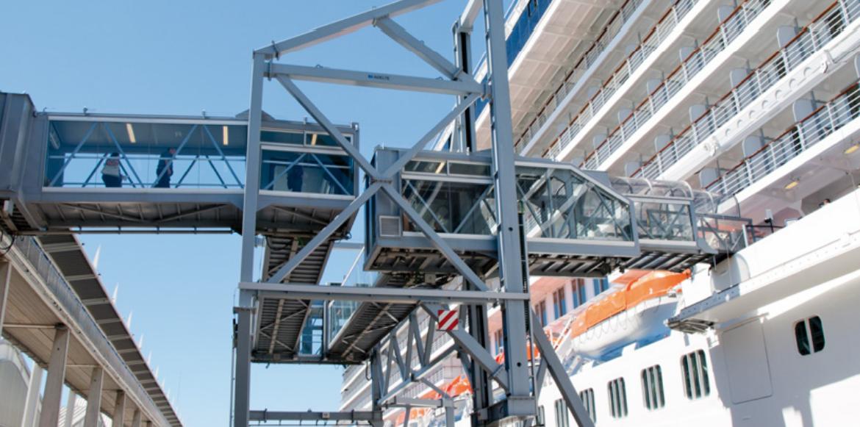 Barcelona: líder mundial en pasarelas para cruceros  (Parte I)