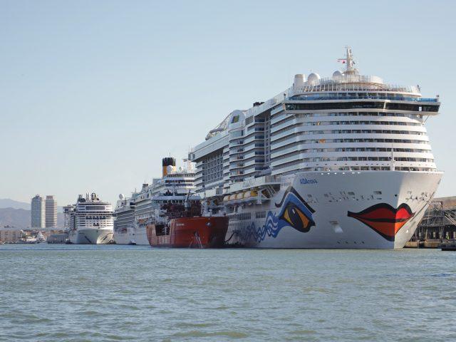 Los cruceros más nuevos serán mayoría en Barcelona en 2020